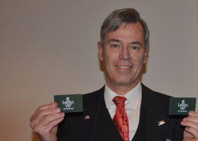 Larry Tomsic wins Lawry Bucks
